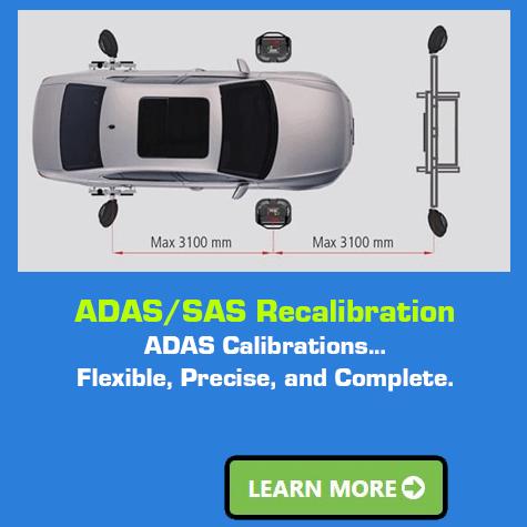 ADAS SAS Recalibration