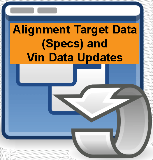 Alignment Target Data Specs and Vin Data Updates