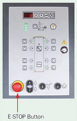 E-STOP-Button