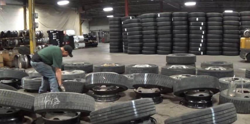 Hard Way To Change Tires