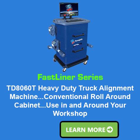 Ravaglioli FastLiner Series Heavy Duty Truck Aligner