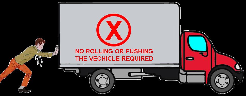 man_pushing_truck