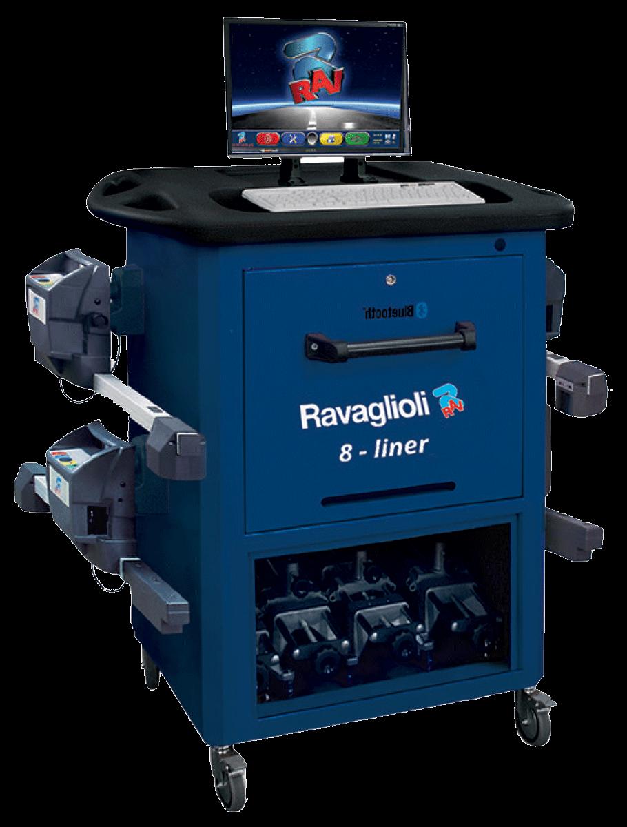 RAVAmerica-8-Liner-Automotive Wheel Aligner