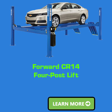 Forward-CR14-Four-Post-Lift