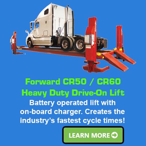 Forward CR50 CR60 Heavy Duty Drive On Lift