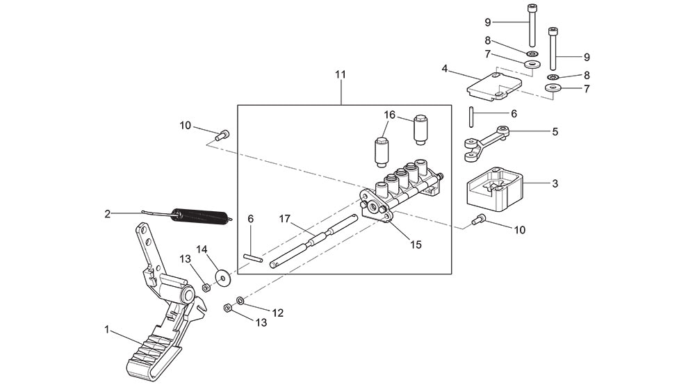 G8645.26-Chuck-Pedal-Assembly