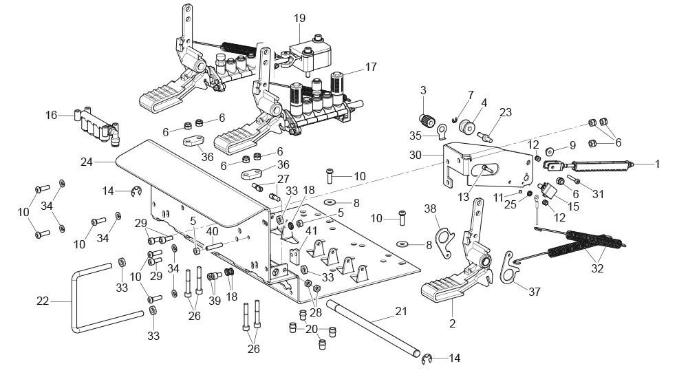 G8945DS.ITA-3-Pedal-Pedalboard-Unit