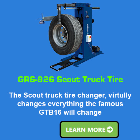 Ravaglioli GRS-926-Scout-Truck-Tire-Changer
