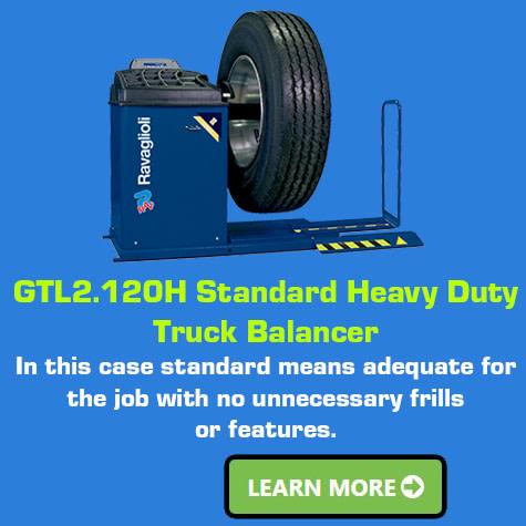 Ravaglioli GTL2.120H-Standard-Heavy-Duty Wheel Balancer