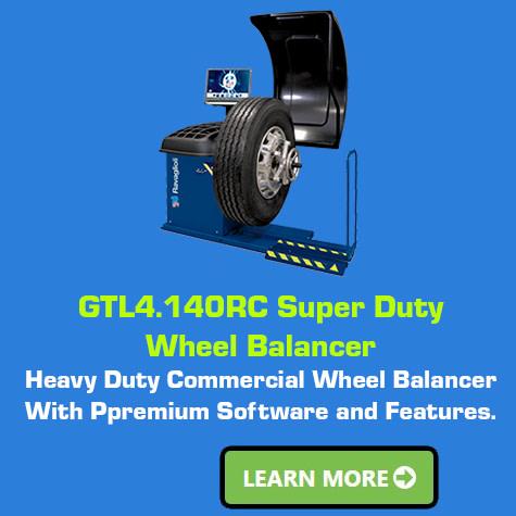 Ravaglioli GTL4.140RC-Super-Duty Wheel Balancer