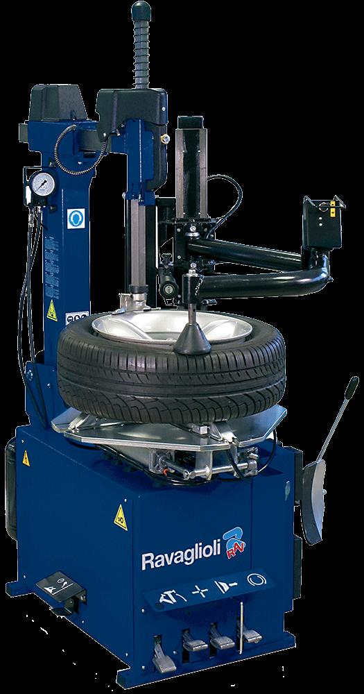 Automatic Tilt Back Tire Changer