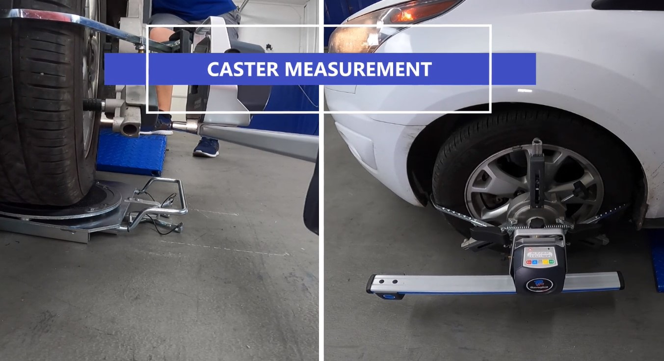 measure caster without plates