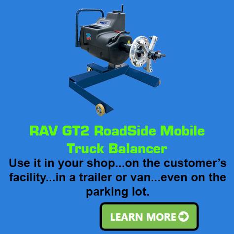 GT2 RoadSide Mobile Truck Balancer