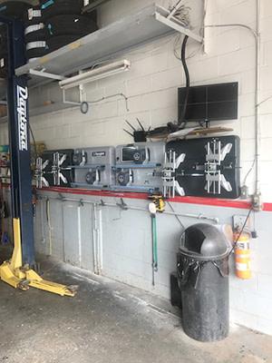 WIFI in 4-bay shop